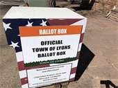 Town of Lyons Official Ballots Mailed