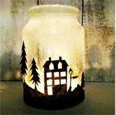 Mason Jar Luminarias
