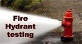 Fire Hydrant Testing MON. SEP 28