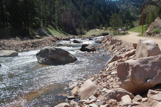 North St. Vrain Creek Stream Restoration Complete