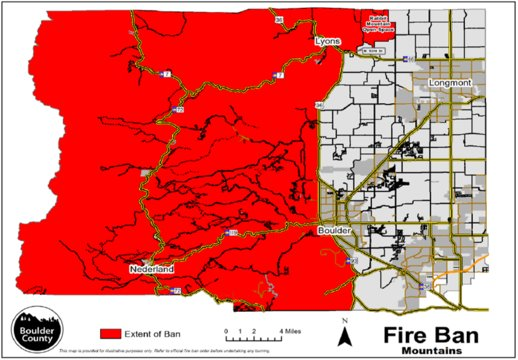 Boulder County Fire Ban