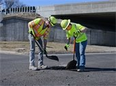 Patching and Filling Potholes