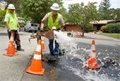 Apple Valley New Water Line
