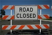Road Closure SH 7