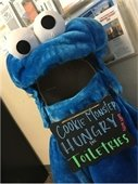 Cookie Monster Hungry