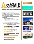 safeTALK Suicide Awareness