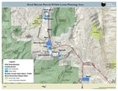 Flood Buyout Parcels Within Lyons Planning Area