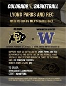 Parks & Rec Fundraiser: CU Basketball