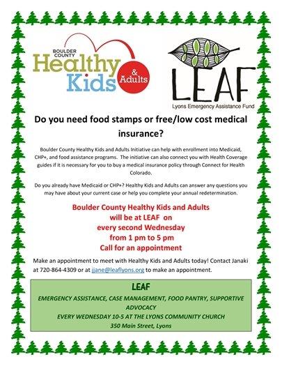 Healthy Kids & Adults, LEAF
