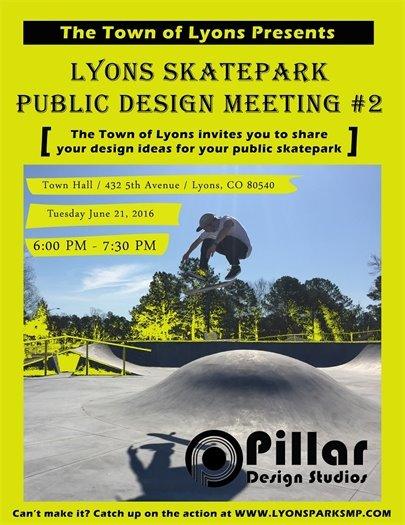 Skatepark Design Meeting 2