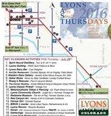 Lyons Last Thursdays Art Stroll