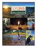 2016 Fall Winter Recreation Brochure