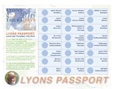 Lyons Last Thursdays Lyons Passport