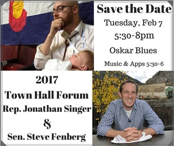 Town Hall Forum with Rep. Jonathan Singer & Sen. Steve Fenberg