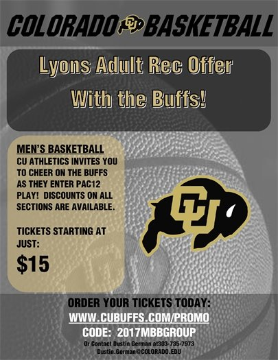 Discounted CU Men's Basketball