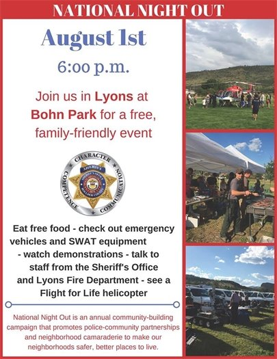 National Night Out - Tonight in Bohn Park