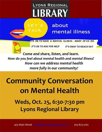 Lyons Regional Library Presents...