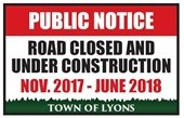 McConnell Bridge Road Closure