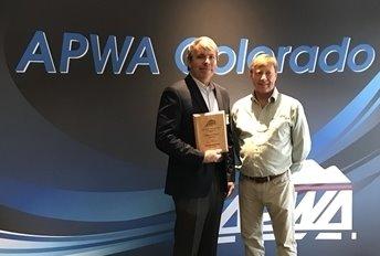 Jim Blankenship Wins APWA Award