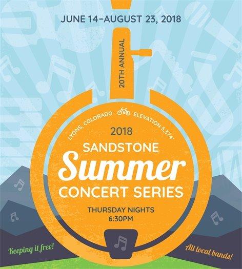 2018 Sandstone Summer Concert Series