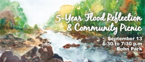 Flood Reflection & Community Picnic