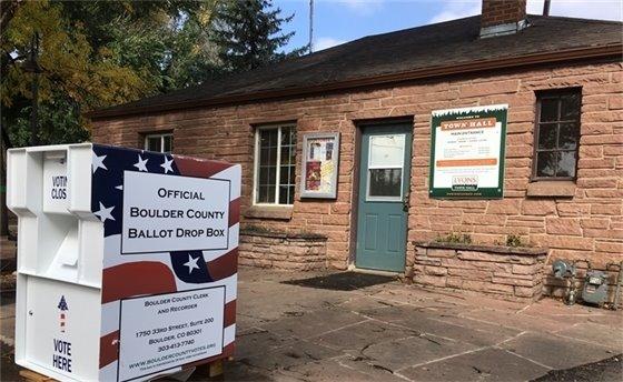 Lyons 24-Hour Mail Ballot Return Box