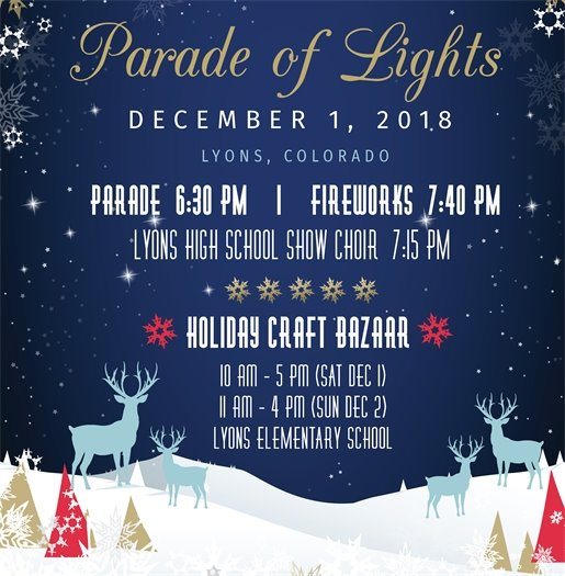 Holiday Parade of Lights and Craft Bazaar