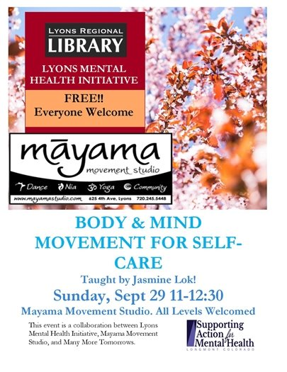 Body & Mind Movement for Self-Care