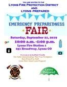 2019 Emergency Preparedness Fair