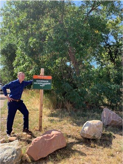 Hickenlooper Visit to Lyons