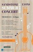 Sandstone Summer Concerts