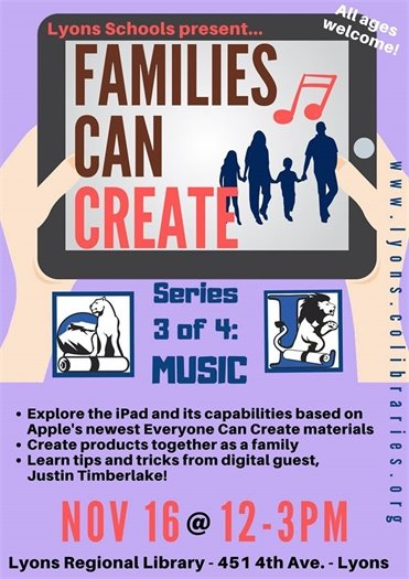 Families Can Create