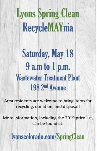 Spring Clean RecycleMAYnia
