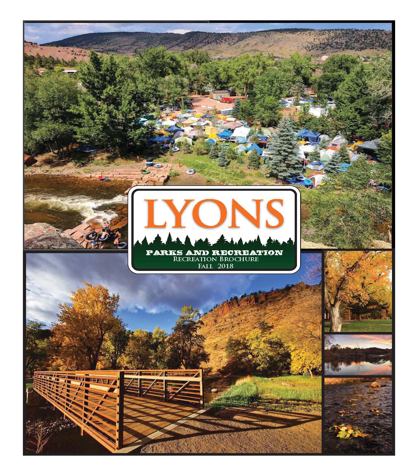 Town of Lyons Recreation Brochure Fall 18