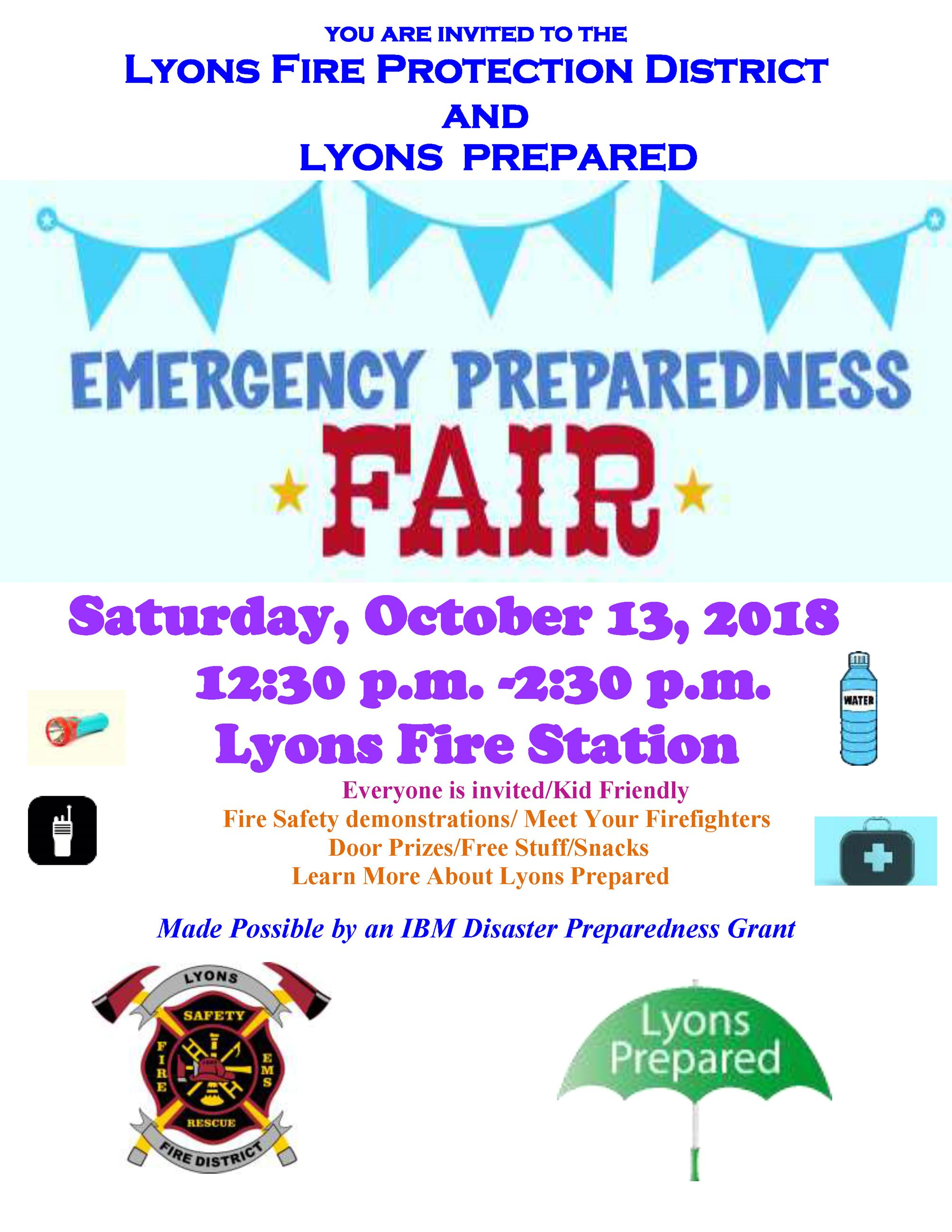 Preparedness Fair 102018
