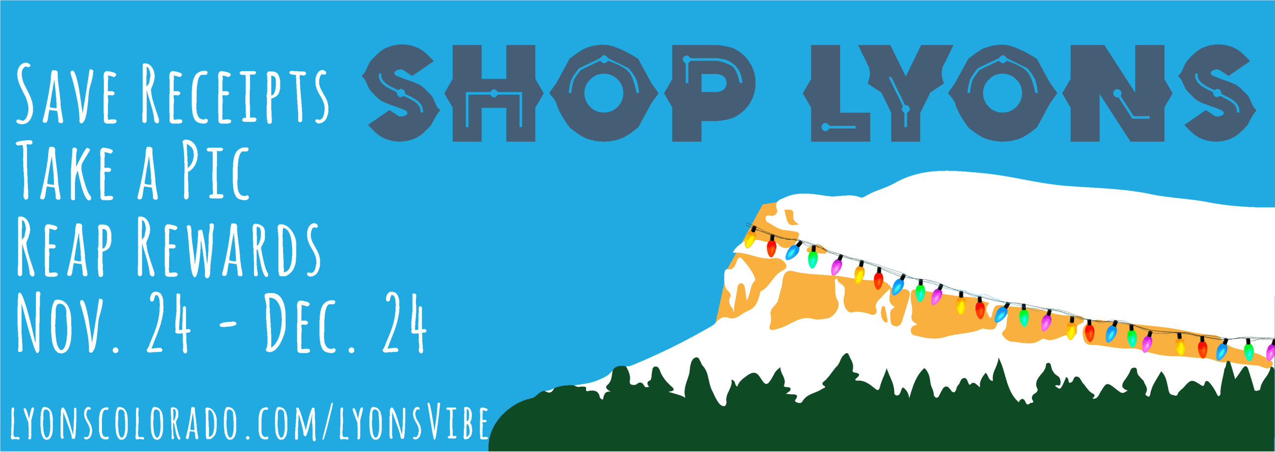 Shop Lyons, Nov. 24 - Dec. 24