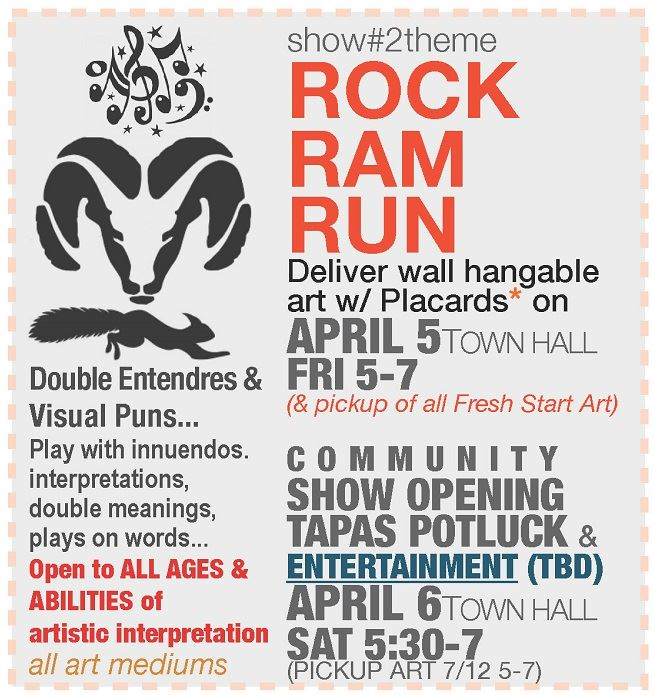Rock, Ram, Run 2019 promo