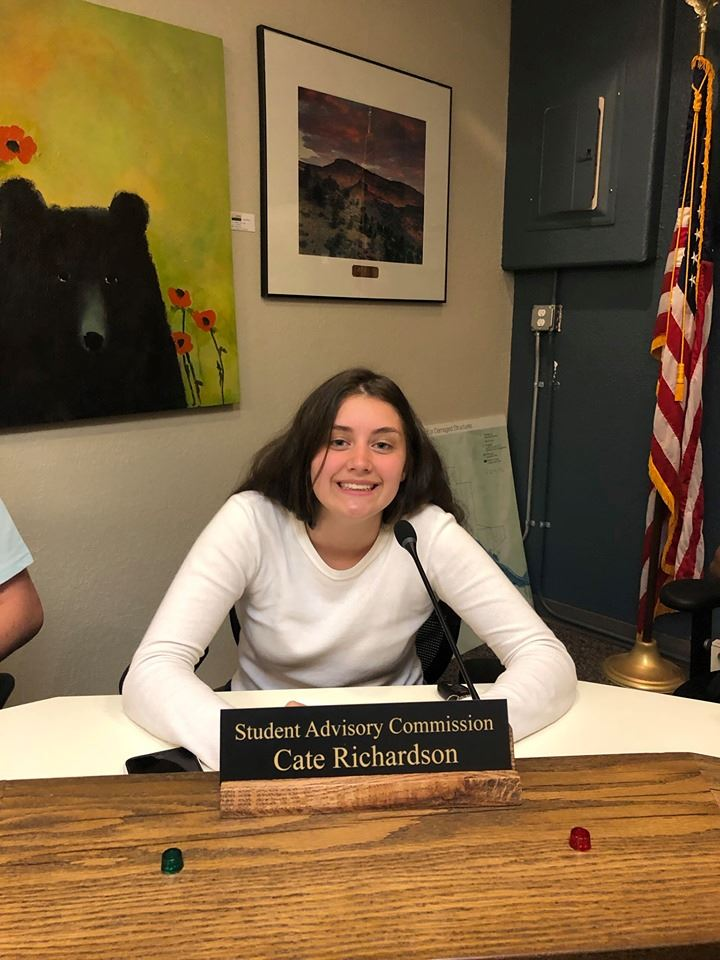 Cate Richardson_Student Advisory Aug 2019
