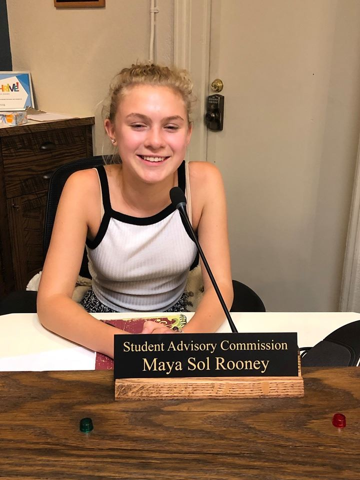 Maya Sol Rooney_Student Advisory Aug 2019