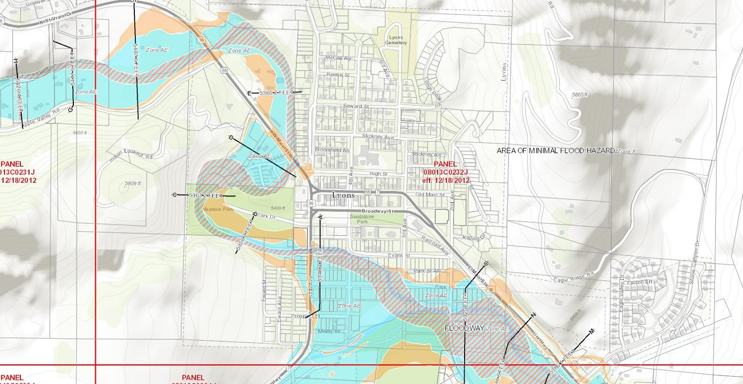 Existing Floodplain Map